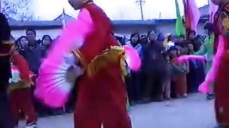 雁塔区缪家寨村2003年闹元宵锣鼓秧歌表演