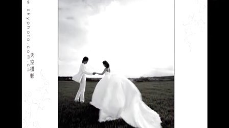 2012年最大气婚纱摄影作品【天空摄影】坝上外景婚纱照片欣赏www.skyphoto.com.cn