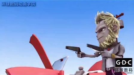 3D搞笑动画短片《猴扑团》一个肉包招惹来的五指