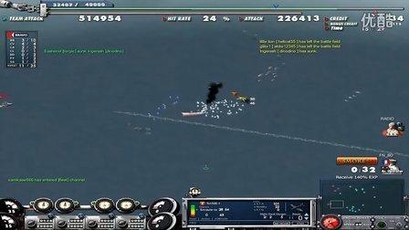 大海战2法国BB6查理曼大帝操作(youtube)
