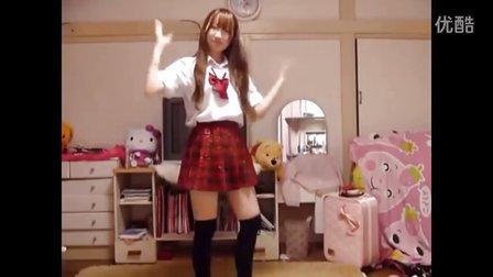 【最炫民族风】【16岁日本女子高生也来跳最炫民族风】【神同步】