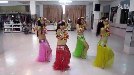 揭阳肚皮舞 阳光舞蹈培训中心 草裙舞《waka waka 》