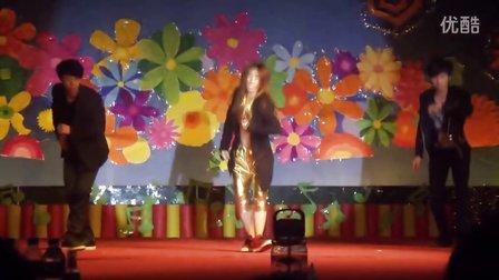 山东科技大学济南校区财经系2011毕业生晚会 街舞
