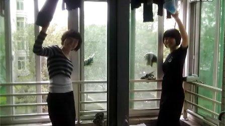 中国人民公安大学09治安五区队女生寝参评标兵宿舍宣传视频