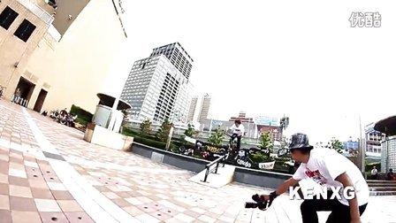 2013年大阪第四届动作死飞大赛 NORIDAORE