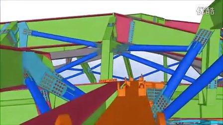 King Abdullah中心 - Tekla BIM模型和2D图纸