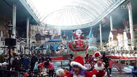 圣诞节乐天世界表演