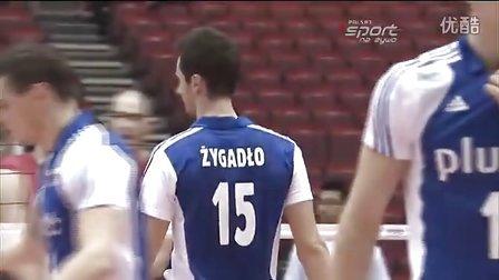 2011年世界杯男排赛 波兰:美国