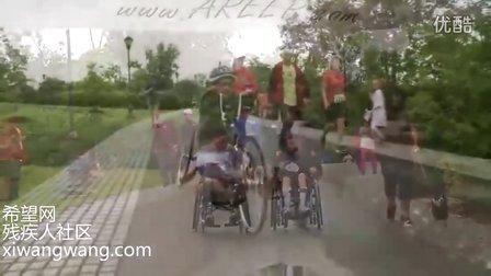 轮椅马拉松