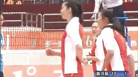 2011年12月31日中国女排A组联赛第一阶段第7轮 四川vs北京 第二局
