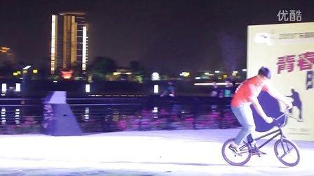 10、花式自行车绕圈