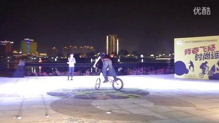 8、花式自行车、攀爬车表演