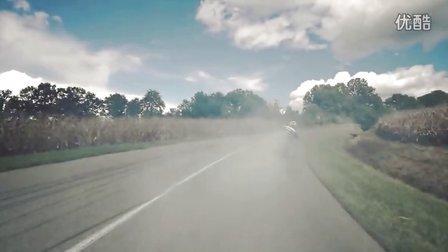 「GAVEN-媒体」乡间公路摩托车漂移特技-重机车漂移特技