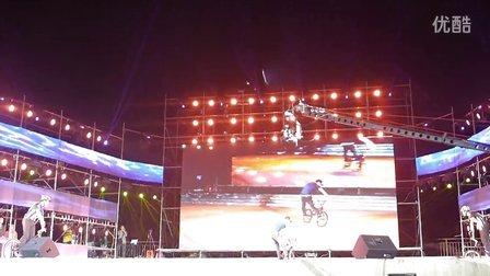 2013年11月19日南海桂城文化节闭幕式表演(钟腾飞)