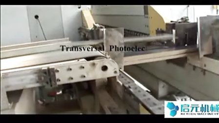 强化地板开槽生产线视频.