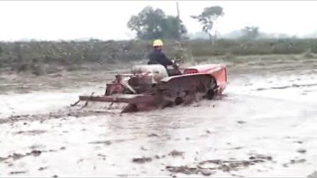 金驰489四驱机耕船摄影