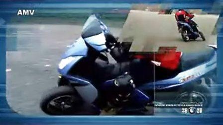 神蹼倒三轮电动摩托车路试样车