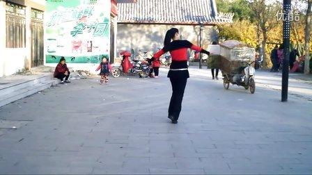 夏之荷广场舞-站在草原望北京-演示:心有千千结