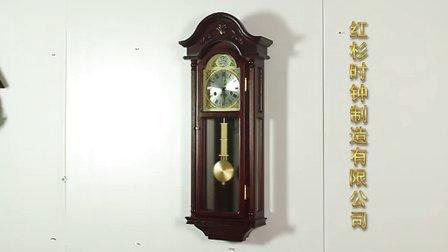 雍容华贵 欧式钟表挂钟 机械实木挂钟 客厅时尚挂钟 CP462-1