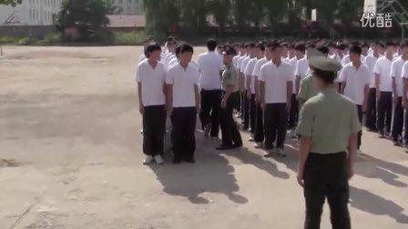 丹东曙光职专2011年8月23日2011级新生军训