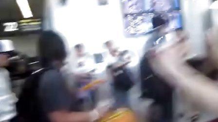谢霆锋温州机场