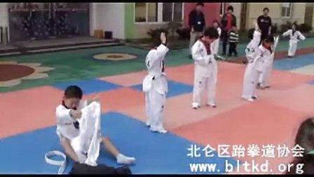 幼儿跆拳道礼仪比赛_北仑区跆拳道协会