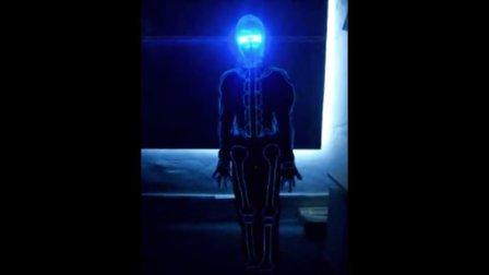 EL 冷光线骨头效果加入声控效果
