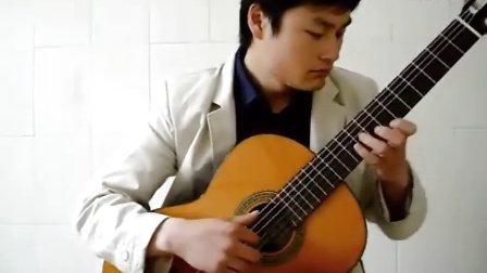 潍坊吉他 指弹古典吉他 【梦中的婚礼】