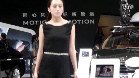 2013武汉车展—标致——模特秀
