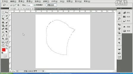 2.1 photoshop cs5视频教程 第二章 第一节 套索工具12