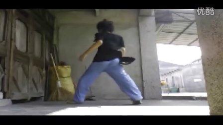 小诗赛前准备 (曳步舞视频大赛)