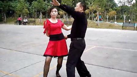 松坪山公园交谊舞(三步踩)