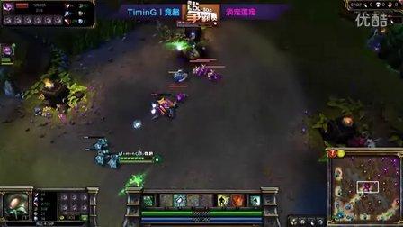 PLU英雄联盟LOL 微星杯SOLO争霸赛 8强 淡定蛋定 vs TiminG丨竟超