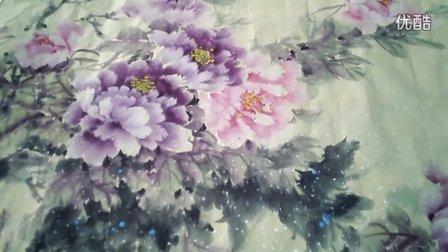 李兴福国画牡丹欣赏