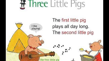 Three Little Pigs——《我的100首英语主题儿歌书》