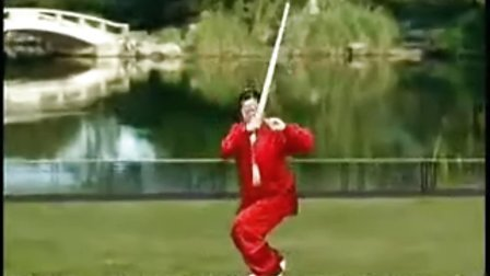 吴阿敏36式太极剑带口令