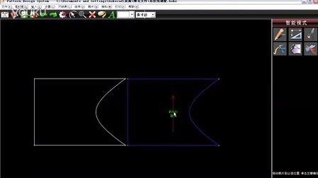 博克服装CAD视频教程-系统设置-7.11-系统【曲线关联】