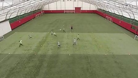 U14训练:窄场控球