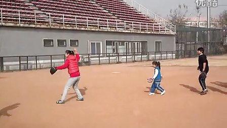 天才无敌张笑若-接地滚球-棒球-baseball
