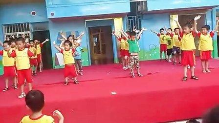 幼儿园大班 六一舞蹈表演 幼儿舞蹈 中国功夫