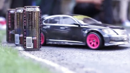 唯美模型漂移秀New BGM 2011 Korea RC Street Drift Challenge 3R