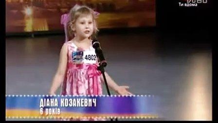 乌克兰6岁小姑娘催泪诗朗诵(很纯真,很感人,我承认我真的哭了)