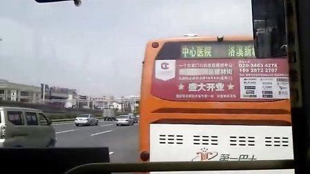 【线路录像】广州302路【番禺市桥汽车站→广州火车东站总站】