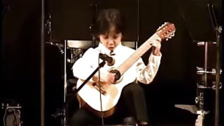 【J❤古典】6岁美国古典吉他手Kayden Behan-Celeste y Blanco