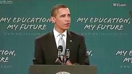 【励志演讲】奥巴马开学演讲