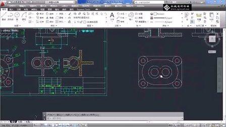 缸体零件设计(2) - cad教程