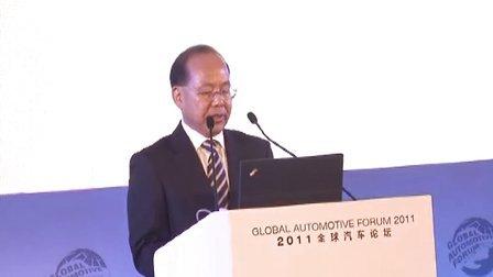 全球汽车论坛 专访广汽集团董事长 张房有