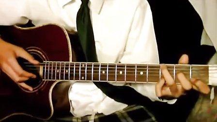 吉他独奏 蒲公英的约定 指弹_tan8.com
