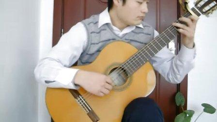 圣诞歌曲 铃儿响叮当吉他独奏 潍坊吉他 古典吉他独奏