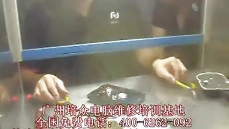 广州培众电脑维修培训学校——硬盘维修培训课硬盘开盘现场第二讲